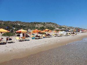 Esperides spiaggia