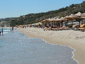 Kardamena spiaggia