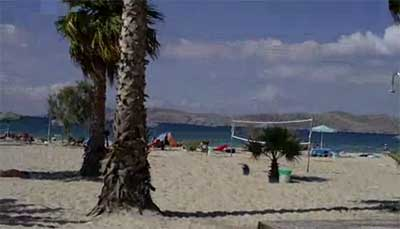 Marmari spiaggia